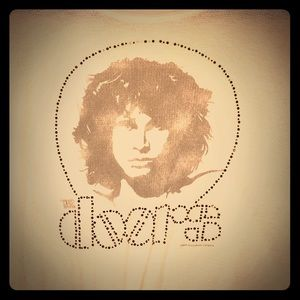Thermal sparkly Jim Morrison The Doors shirt